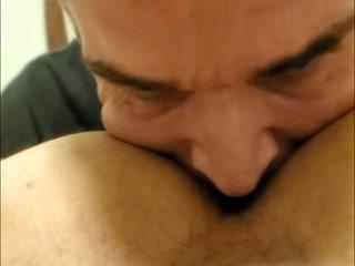 Eating Jonathan's hot sweaty ass