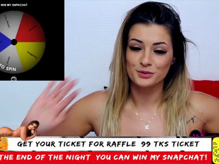 The winner of raffle ticket! 05.02.2020