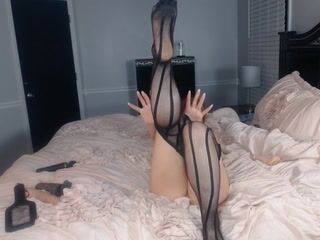 Foot and leg tease