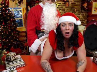 Weihnachtsfrau und fuck AG