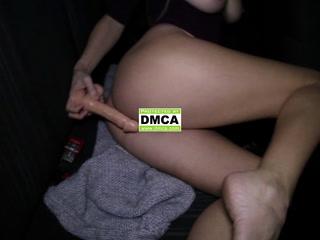 In car, Dildo - H11