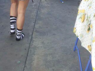 Socks at the supermarket (custom order)