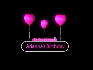 Arianna's Birthday 640p