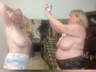 Whipped cream busty blondes