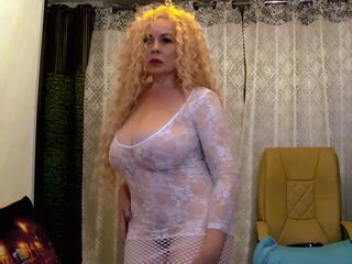 not long in blonde)