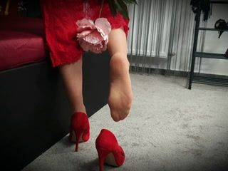 sexy walk, feet