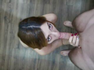 sexy sloppy blowjob