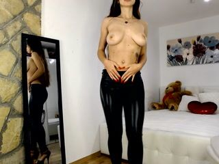 Mistress play with countdown and cum