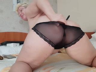 Panty fetish white and black