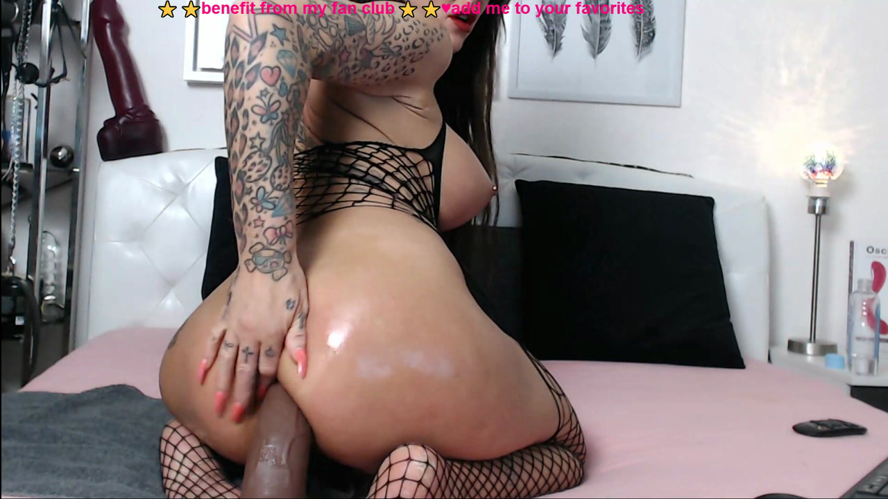bbc and white cock in my ass