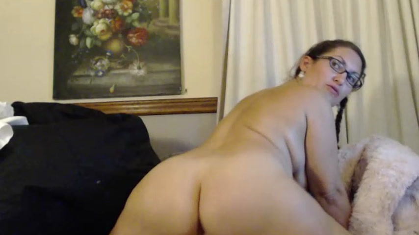 Riding that cock, real good (Rear View)