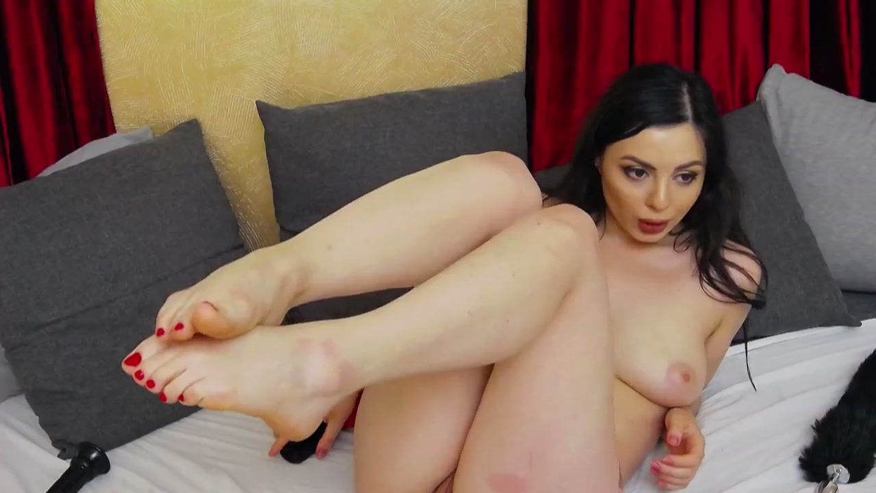 feet, bj and pussy play