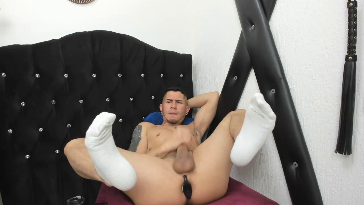 Playing  with  my  cock and ass  .  Show  Cum
