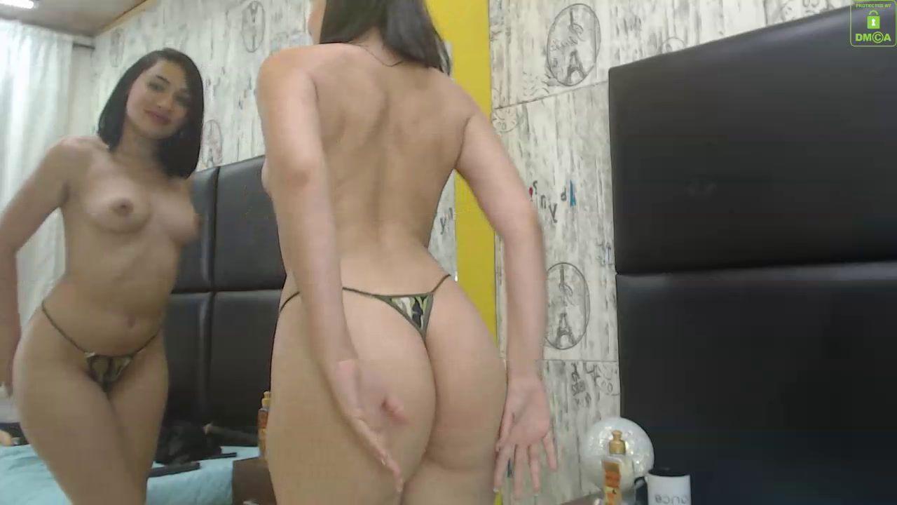Striptease Fingering oil