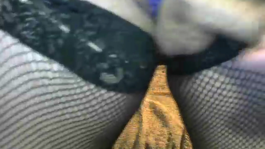 anal toy all the way in